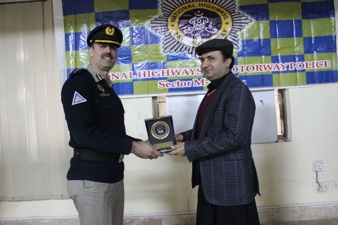 Road Safety Training by Motorway Police