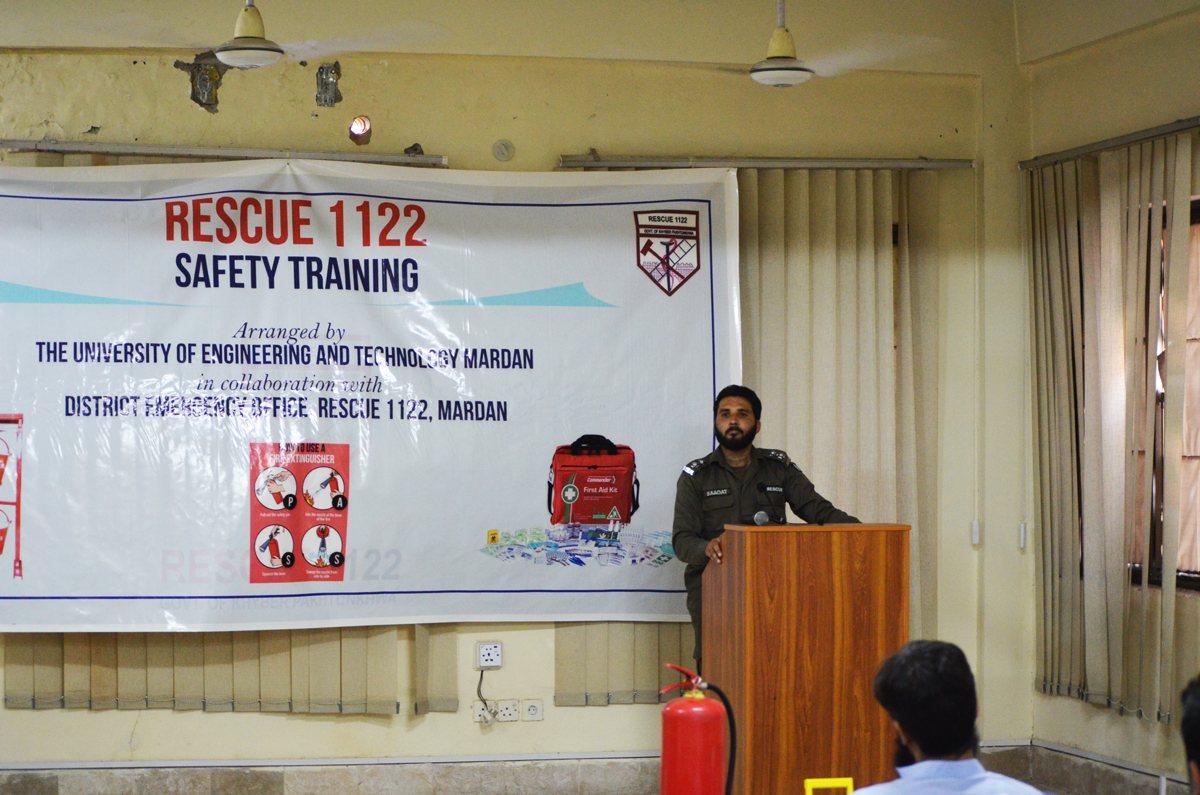 Rescue 1122 Safety Training