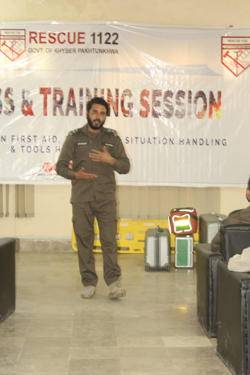 Rescue 1122 Awareness & Training Session