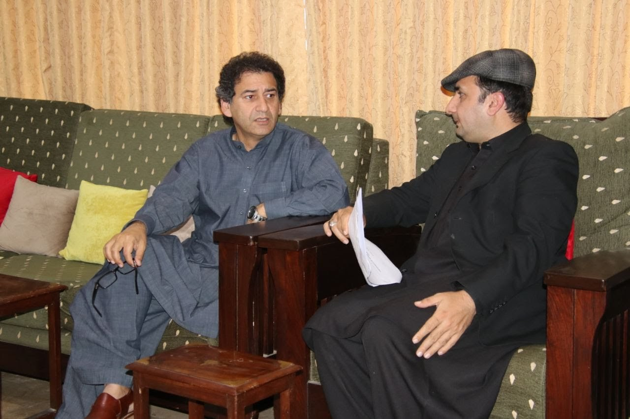 Meeting with Mr. Atif Khan Senior Minister, Khyber Pakhtunkhwa