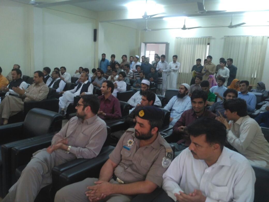 Traffic Safety Awareness Seminar by Motorway Police at UET Mardan